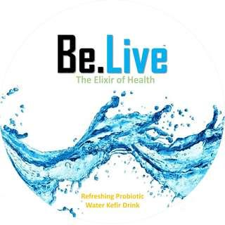 🚚 Be.Live Water Kefir Refreshingly Delicious Probiotic Drinks - Taster Pack