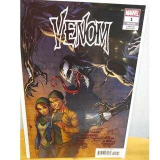 Venom #1 1:50 J Scott Campbell Variant Marvel Comic NM
