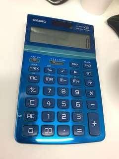 Casio 計數機 Calculator (Blue)
