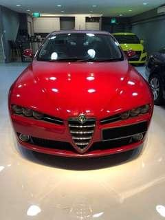 ALFA ROMEO 159 2.2 for rent (Hourly/Daily)