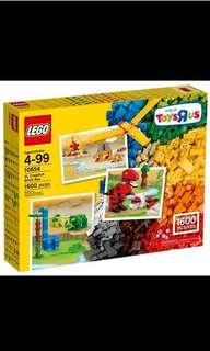 Lego XL Creative Brick box 10654 樂高創意箱 1600 粒