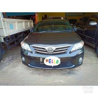 Toyota Corolla ALTIS 1.8 G a/t hitam