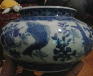 Vas bunga china t.10cm