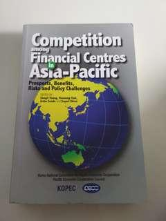 Finance: Competition Among Financial Centres in Asia Pacific