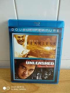FEARLESS AND UNLEASED - Blu Ray - US import (original) - 2 Jet Li movies for only $16