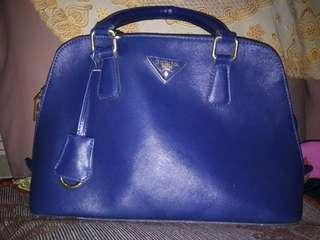 Prada Blue Bag