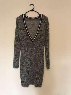 Grey Jumper Dress 8/10