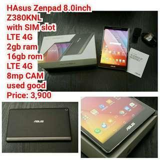 Asus Zenpad 8.0inch  Z380KNL with SIM slot