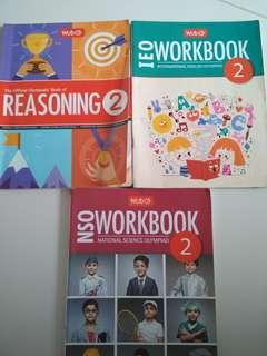 Bundle Olympiad Books! Reasoning/Science/English