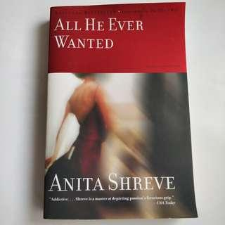 *Quick trade on/before Oct 23* 英文小說 All he ever wanted