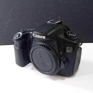 Canon 60D (Body only) with 8GB SD Card