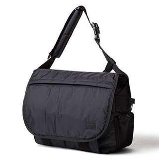 Head Porter X Bagjack Black Beauty Messenger Bag For Laptop