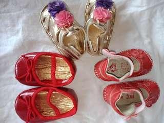 Bundle Baby Shoes&Sandal (3-6mos.)