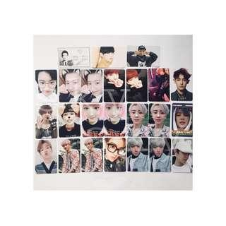 [WTS/INCOMING STOCK] EXO BAEKHYUN AND CHANYEOL OFFICIAL PHOTOCARD
