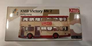Tiny 55 KMB 九巴勝利二型 巴士模型