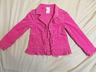 Corduroy Jacket Outerwear Kids Fashion