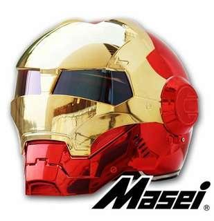 (PREORDER)MASEI Iron Man Chrome Helmet