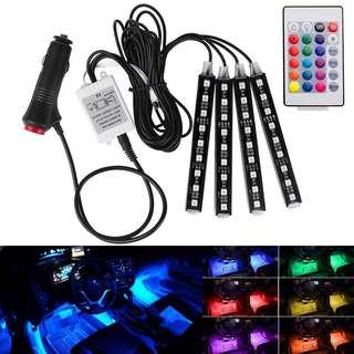 Car led light remote