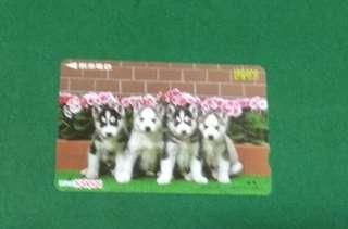 日本電話卡 狗仔 14