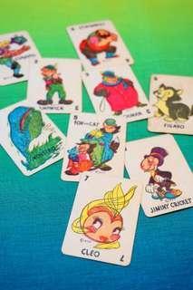 古董迪士尼小木偶卡牌