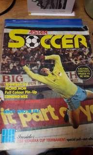 Asian Soccer Magazine Sept 1977
