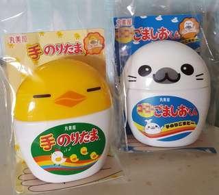 🚚 現貨日本 小雞造型瓶飯友 海豹造型瓶香鬆拌飯 香鬆粉 丸美屋 雞蛋海苔 芝麻海藻