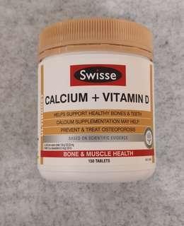 特價🎉Swisse Calcium + Vitamin D 瑞思 鈣片+維生素D 150粒