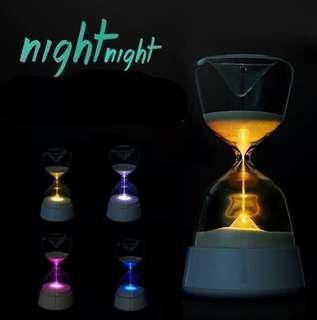 (PRREORDER)HourGlass Nigtlight