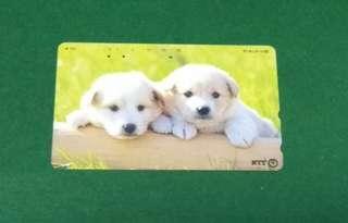 日本電話卡 狗仔 26