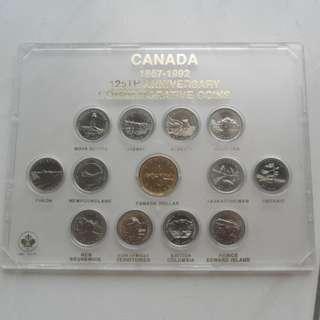 1992 Canada 125th Anniversary Commemorative Coin