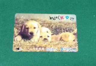 日本電話卡 狗仔 30