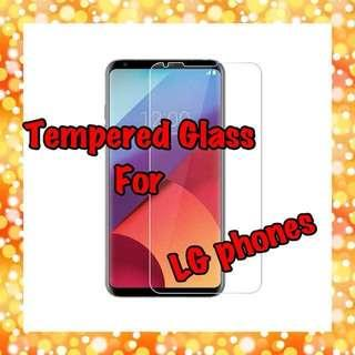🚚 LG Tempered Glass Screen Protectors Collection