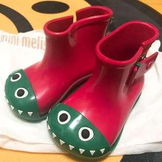 🚚 巴西 梅麗莎 Mini Melissa 恐龍雨鞋