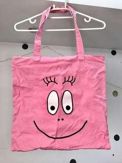 🚚 泡泡先生🤗有拉鍊款購物袋。下水清洗未使用