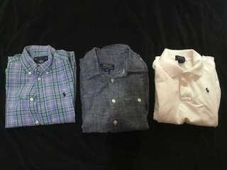 Authentic Ralph Lauren for kids 5-7 yrs old.