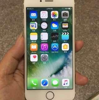 🚚 iphone 6/64G 金 美機