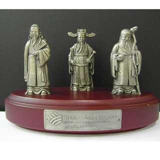 Chinese Feng Shui Three Wise God