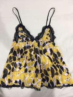 La Senza lingerie sheer top