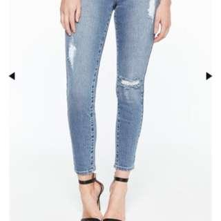 Bardot Distressed Denim Jeans