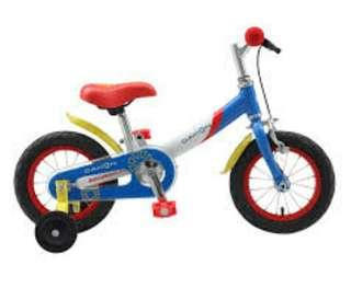 Flexible Dahon uno Balance Bike and Pedal Bicycle