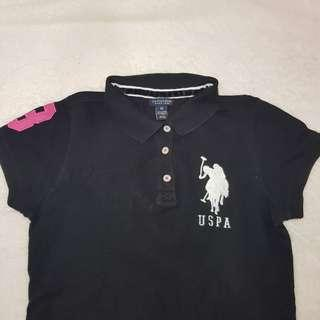 Branded U.S. Polo Assn. Blouse with Collar