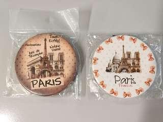 Paris手信 鏡2塊