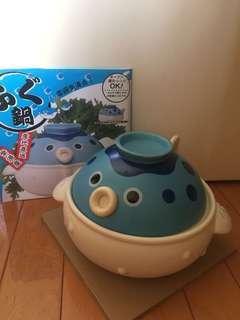 日本瓷器雞泡魚煲