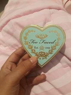 Too faced sweetheart bronzer sweet tea