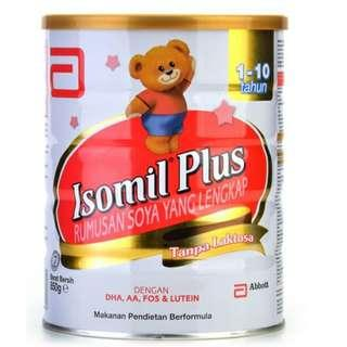Isomil Plus 850g (1-10 Years Old)