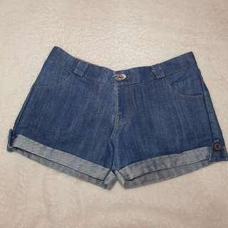 Maong Denim Shorts