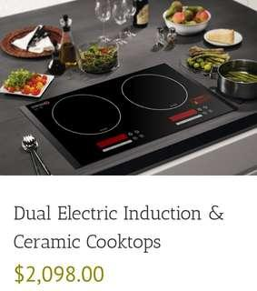 SINCERO Dual Intelligent Electric Induction Cooker