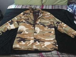 Brandnew Authentic Camou Jacket