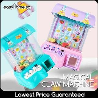 🚚 OOS-preorder--Magical Claw Machine / Mini Arcade UFO Claw Catcher Game
