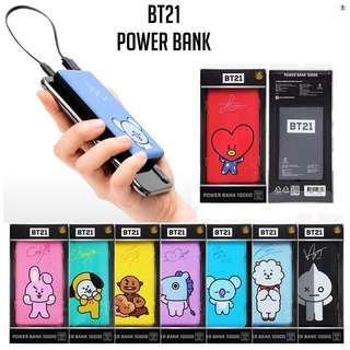 BT21 Power Bank